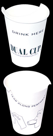 Dual Cup cups